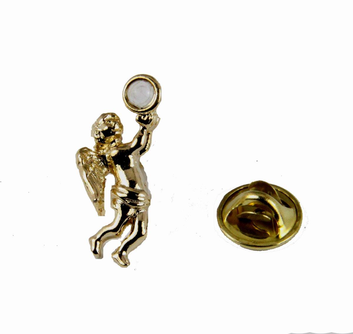 6030108 Serentiy Prayer Angel Pin Lapel Brooch Hidden Prayer AA One Day At A Time God Grant Me