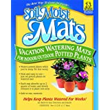 Jrm Chemical Inc Soil Moist Vacation Watering Mats for Indoor/Outdoor Potted Plants, Pack of 2
