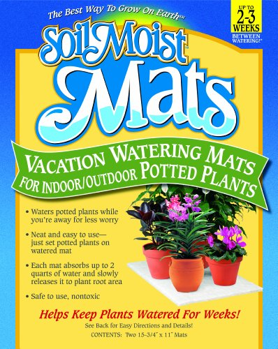 (Soil Moist Vacation Watering Mats for Indoor / Outdoor Potted Plants, Pack of)