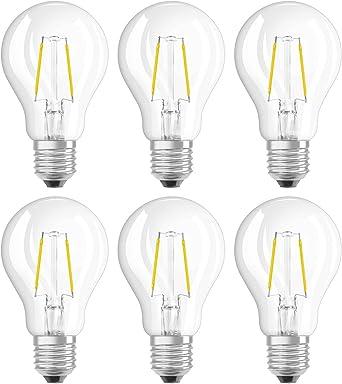 E27 Cap 220-240... 11W Equivalent 100W OSRAM Filament LED Bulb Classic Shape