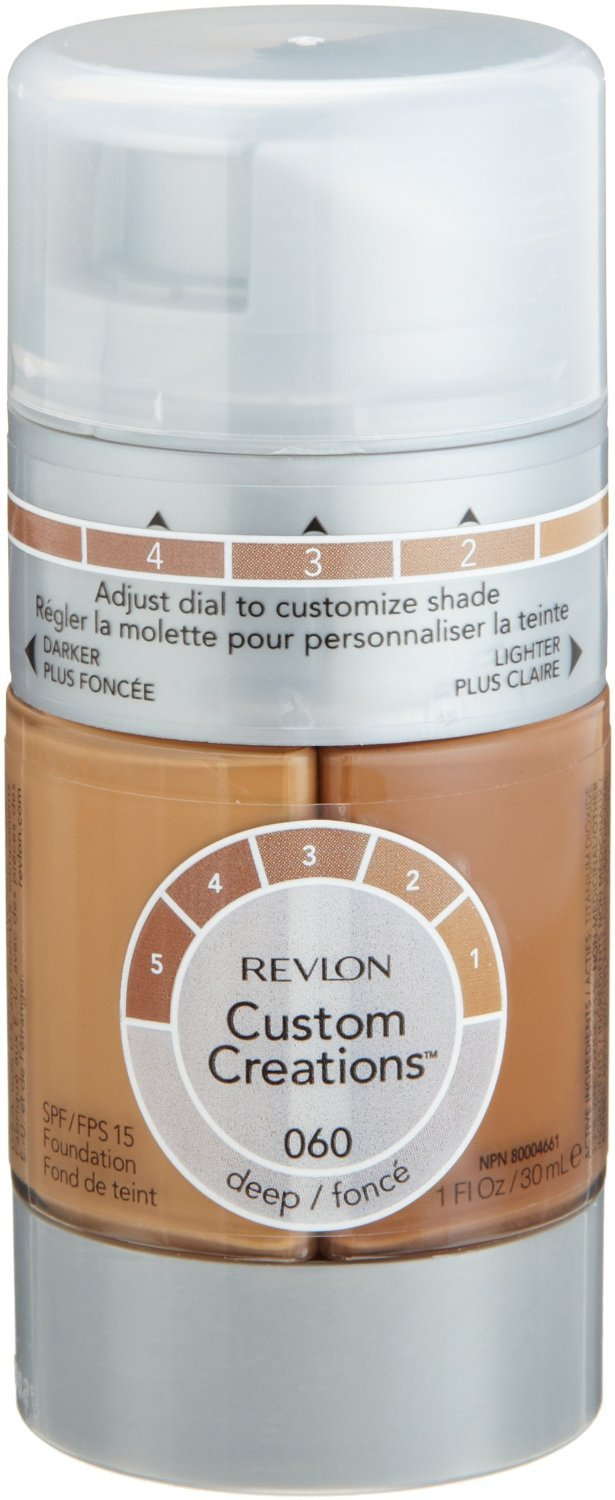 (Pack 2) Revlon Custom Creations Foundation, Deep, 060 1-ounce free shipping