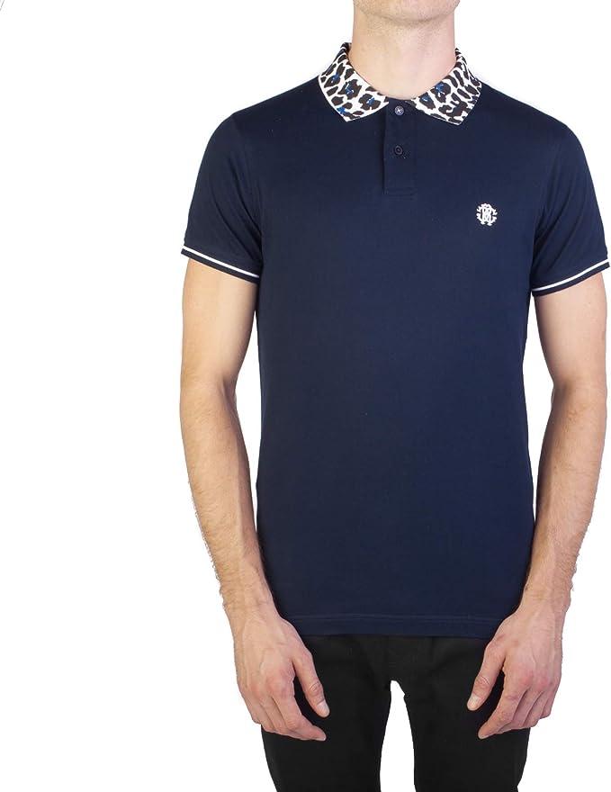 Roberto Cavalli Men/'s Cotton Pique Polo Shirt Red