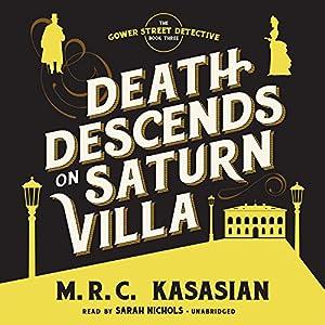 Death Descends on Saturn Villa Audiobook
