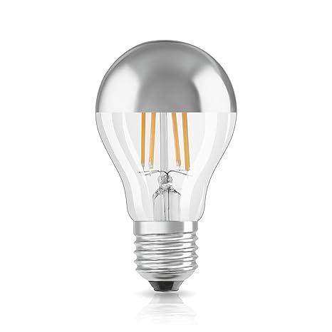 Led 51 SockelNicht Star E27 DimmbarErsetzt Classic WattFilamentstilWarmweiß Kelvin Osram Mit 2700 A Mirror KopfspiegellampeIn Kolbenform kO8n0Pw