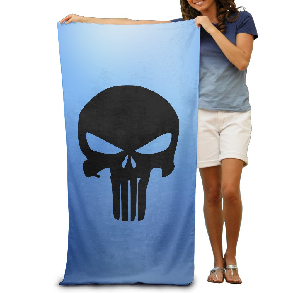 Amazon.com: JML93 Custom The Punisher Skull Quick Dry Fiber Reactive ...
