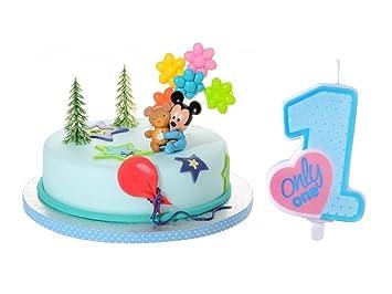 Torten Deko Set Babyparty Taufe Geburt 1geburtstag Junge 8