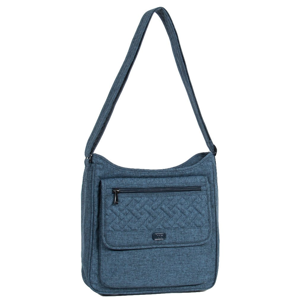 Lug HOPSCOTCH (Model: HOPSCOTCH, HEATHER NAVY), Heather/Navy, One Size LUGCA HOPSCOTCH-HEATHER/NAVY
