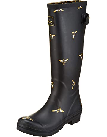 6e602b03455 Joules Women's Welly Print Wellington Boots