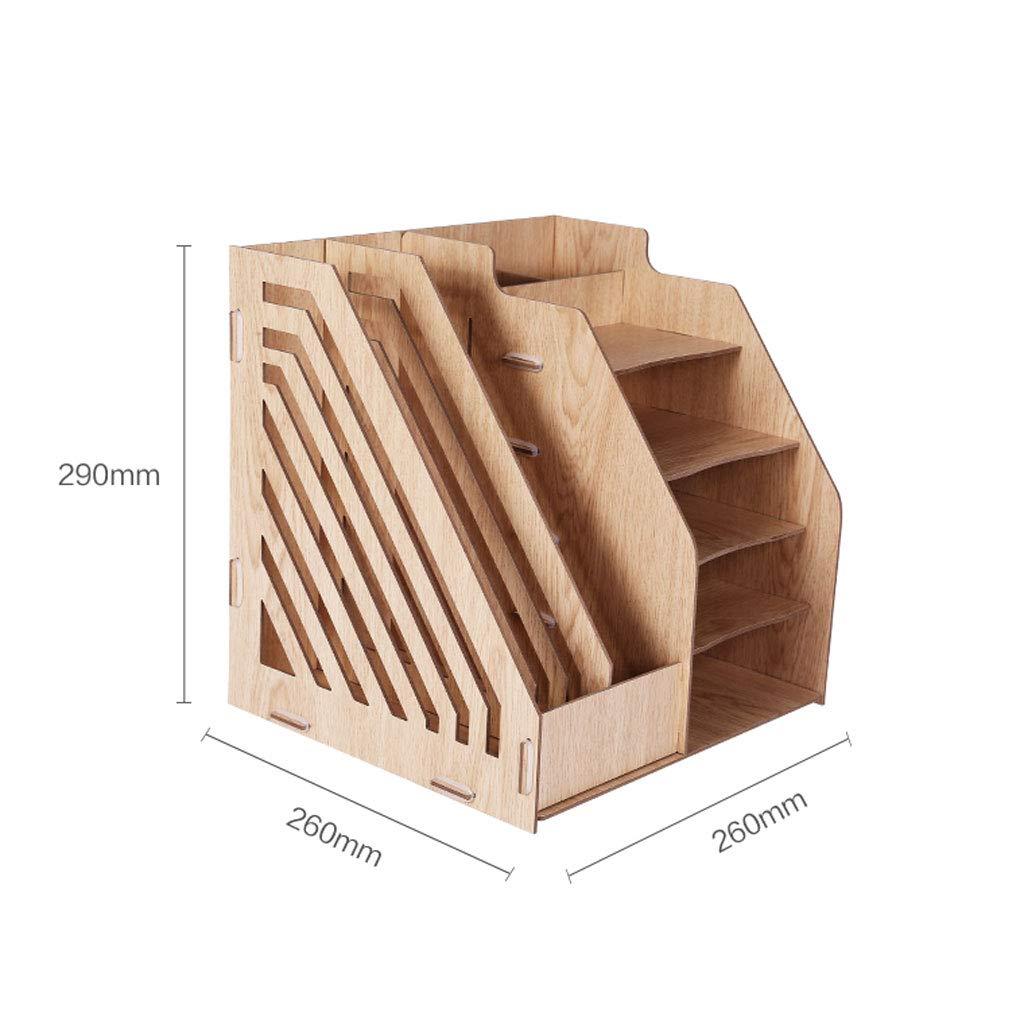 Amazon.com : Multi-Functional Wooden Desktop Organiser, Desk ... on