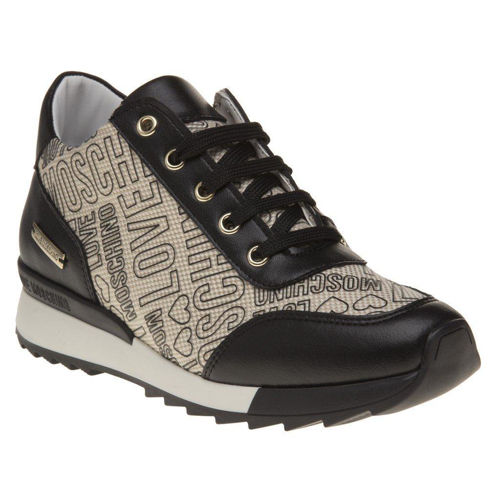 Love Moschino Logo Print Runner Womens Sneakers Multi