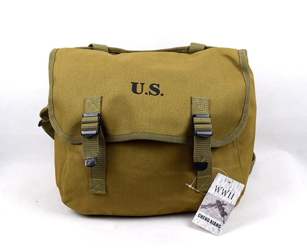 Repro WWII US M1936 M36 Musette Field Bag Back Pack Haversack