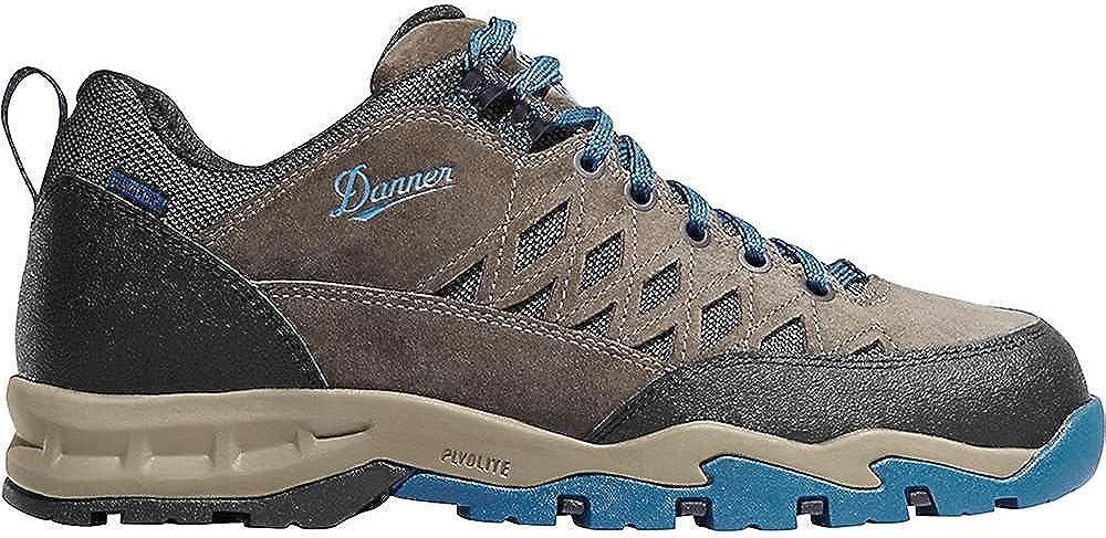 Danner Men's TrailTrek Light 3 Brown Red Hiking Shoe