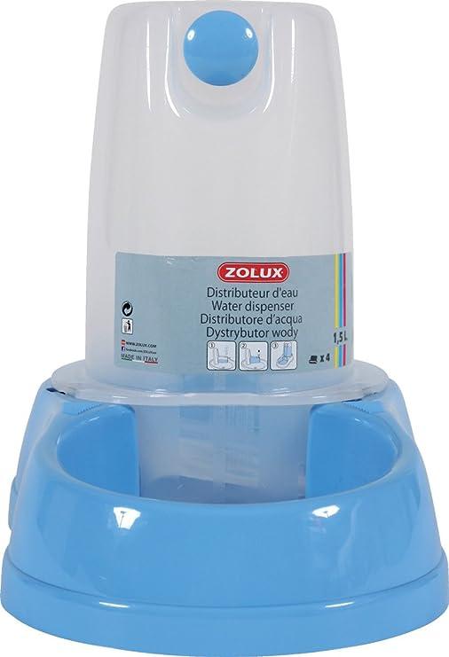 Stefanplast 4-04663 Tolva Agua, 6.5 l, Color Azul Pastel: Amazon.es: Productos para mascotas