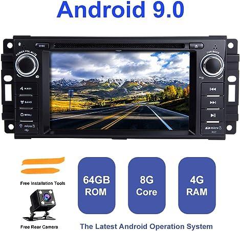 Android Autoradio Stereo Zltoopai Für Dodge Ram Challenger Jeep Wrangler Jk Einzel Din Head Einheit Android 9 0 Octa Core 4g Ram 64g Rom Auto Stereo Gps Radio Mit Kostenlose Rückfahrkamera Navigation