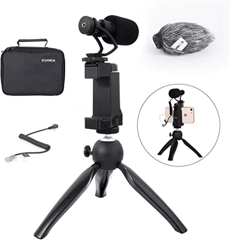 Comica Smartphone Video Rig Kit CVM-VM10-K2 Mini trípode con ...
