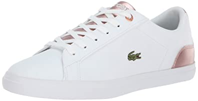 14be67a2bc94aa Lacoste Girls  Lerond Sneaker White Pink 4. Medium US Toddler