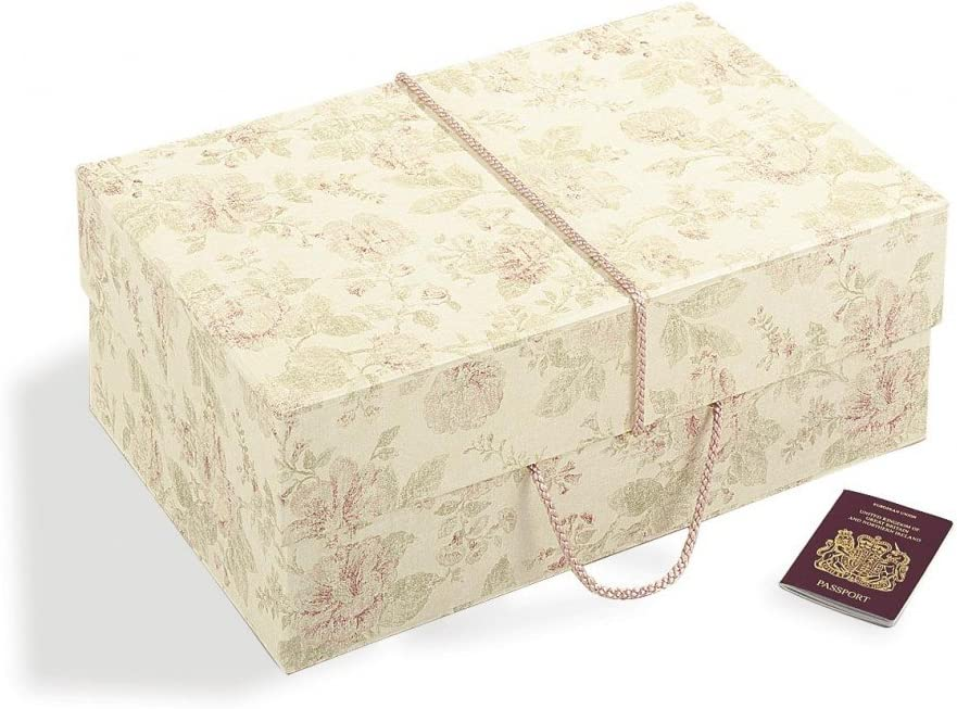 Wedding Dress Box Company - Caja para vestido de boda (tamaño grande, 55 x 35 x 20 cm), diseño vintage: Amazon.es: Hogar