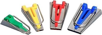 Schrägbandmacher Set Breite 6; 12; 18; 25 mm Schrägband Schrägbandformer