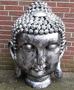 Cabeza de Buda 1metro decorativo figura Buda