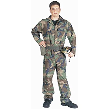 adult mens army guy halloween costume size standard