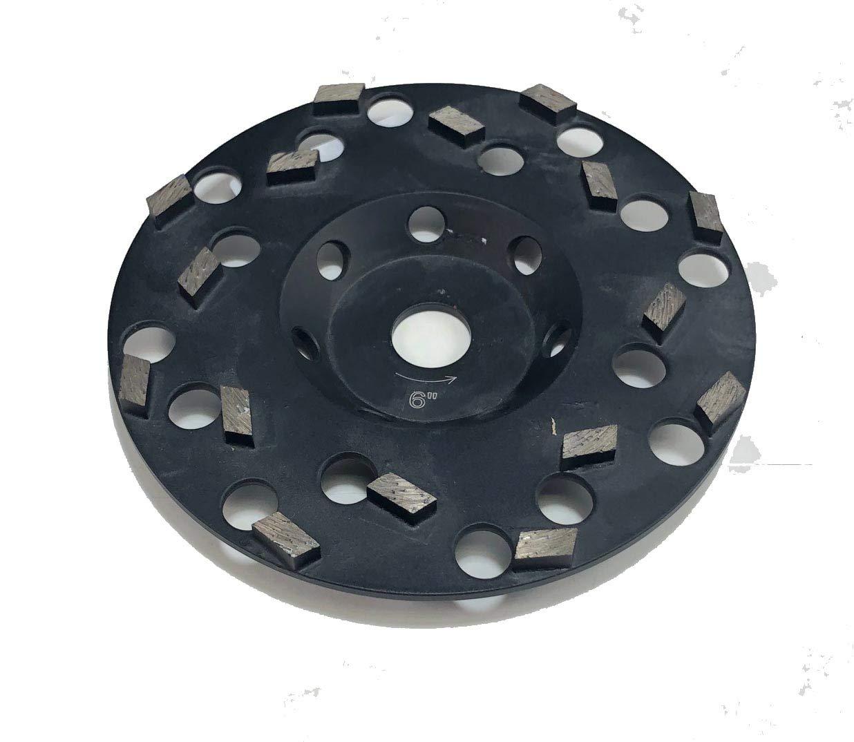 Multi Segment Diamond Cup Wheels Fast Aggressive Grinding Concrete Masonry Stone (7'').
