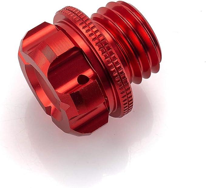 Öleinfüllschraube Verschluss Schraube Alu Cnc Gefräst M20 X 2 5 Rot Auto