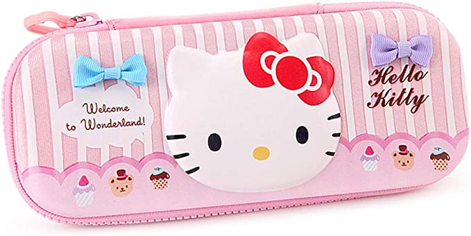 YOURNELO - Estuche para lápices, diseño de Hello Kitty: Amazon.es: Oficina y papelería