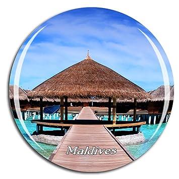 Buy Weekino Sheraton Full Moon Island Maldives Fridge Magnet