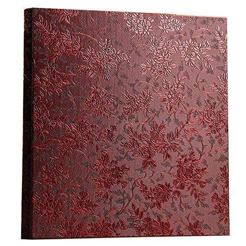 (Ksmxos Frame Cover Photo Album 600 Pockets Holds 4x6 Photos Red)