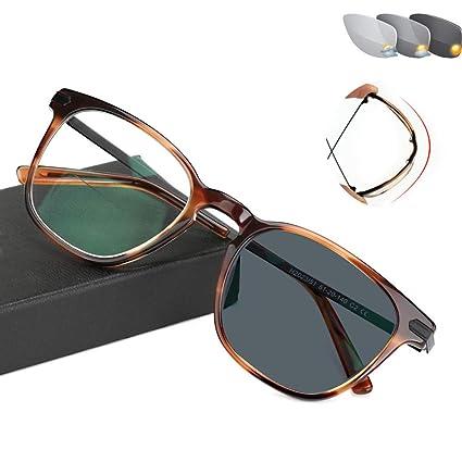 LYHD Gafas de protección contra Rayos UV, Gafas ópticas Sin ...