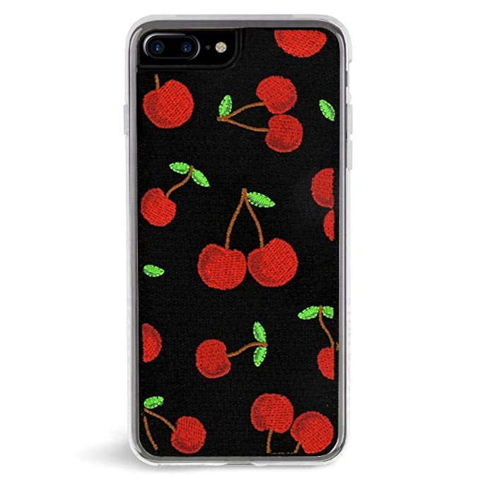 huge selection of e3adb 24bec Zero Gravity iPhone 7 Plus / 8 Plus Cherry Phone Case - 360° Protection,  Drop Test Approved - Black/Red