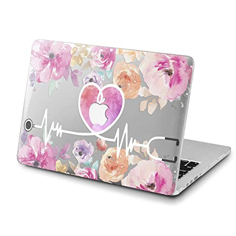 promo code 922f6 16c3f Amazon.com: Lex Altern MacBook Pro 15 inch Nurse Hard Case Floral ...