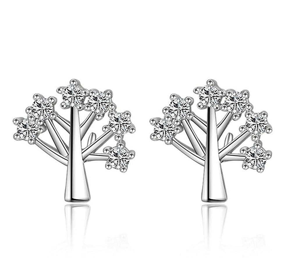 Ginger Lyne Collection Tree of Life Cubic Zirconia Earrings