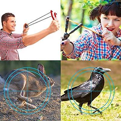 Wrist R Y Shot Hunting Slingshot For Adults Easimgo Professional Slingshot Set