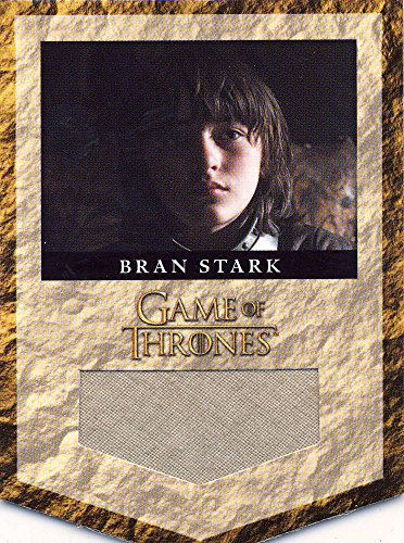 2013 Game of Thrones Season Two 2 Banner Relic Card RS6 Bran Stark 172/375