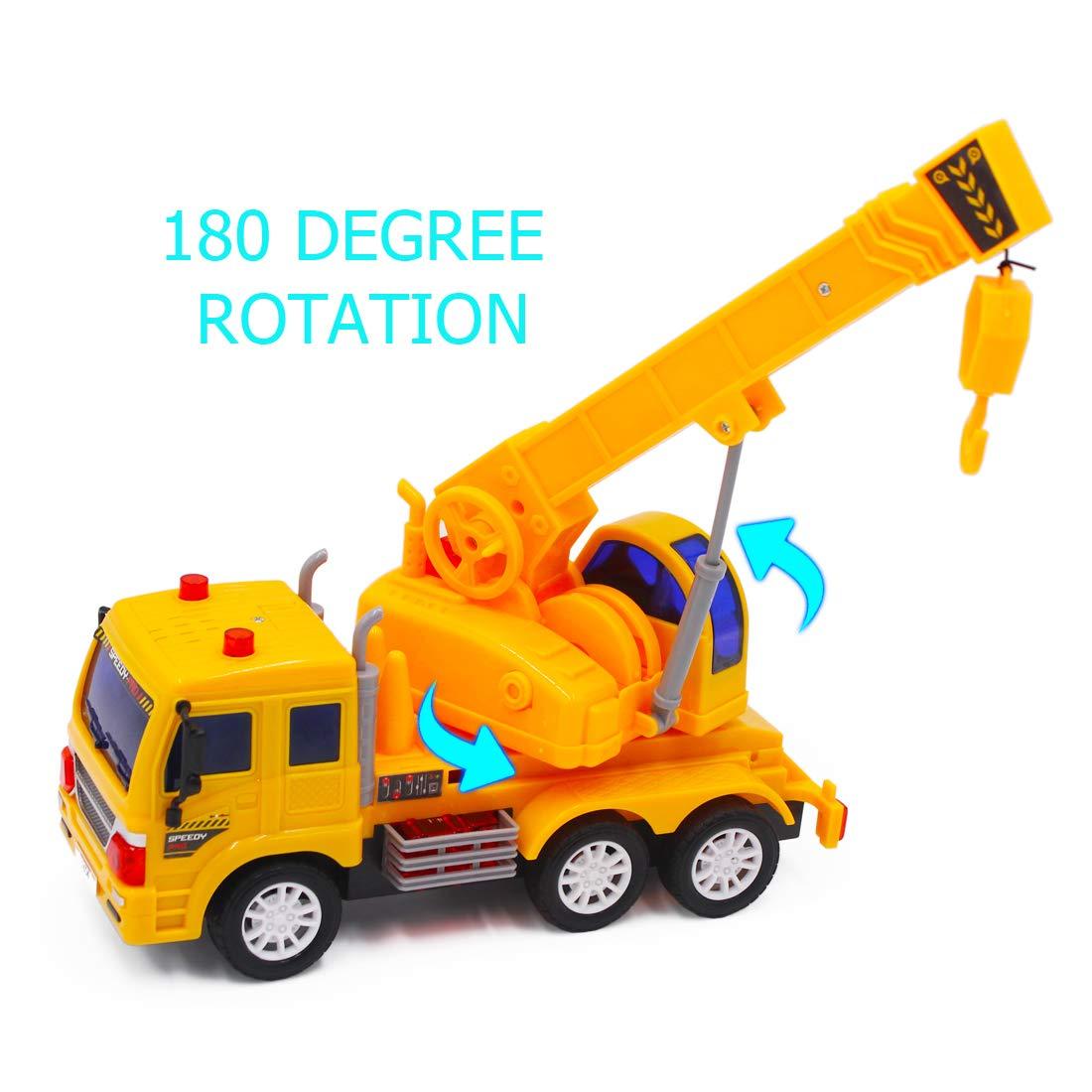 Cami/ón Mezclador deAO RC Camiones de Serie Cami/ón de Construcci/ón a Radio Control Veh/ículo de Obras con Luces y Sonidos Nivel Principiante