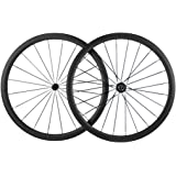 Queen Bike 38mm Carbon Wheelset Clincher Bicycle Wheel Road Bike Wheelset 700c