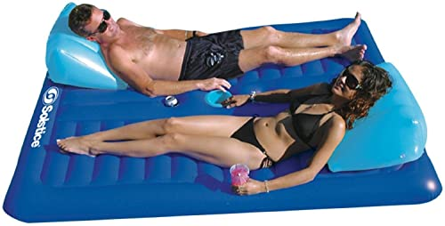 New Shop Pool Float Inflatable Couple Fun lounger Lounge Mattress