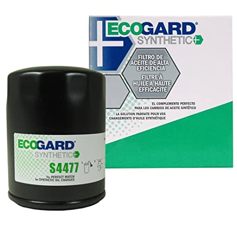 Amazon.com: ECOGARD S4477 Spin-On Engine Oil Filter for Synthetic ...