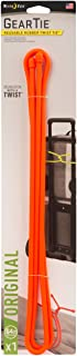 product image for Nite Ize Original Gear Tie, Reusable Rubber Twist Tie, 64-Inch, Bright Orange, Made in the USA