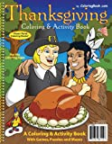 Thanksgiving Coloring Book (8.5x11)