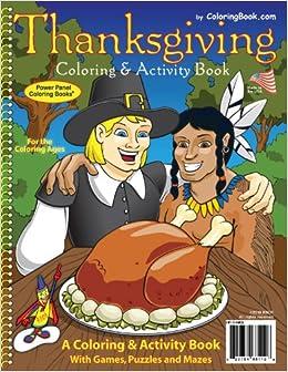 thanksgiving coloring book 85x11 coloringbookcom really big coloring books 9781935266112 amazoncom books - Big Coloring Books