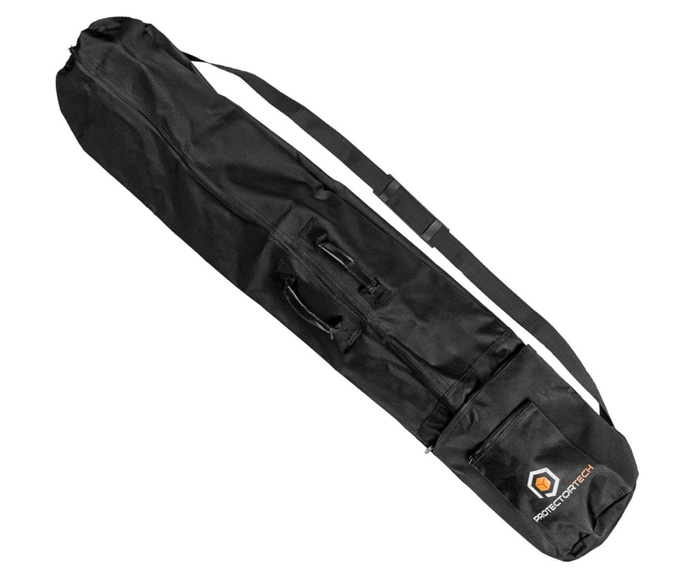 HD bolsa para detector de metal o soporte de micrófono/altavoz - 125 cm de largo: Amazon.es: Jardín