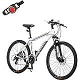 カノーバー(CANOVER) マウンテンバイク 自転車 24段変速 サスペンション ディスクブレーキ CAMT-043-DD ATLAS