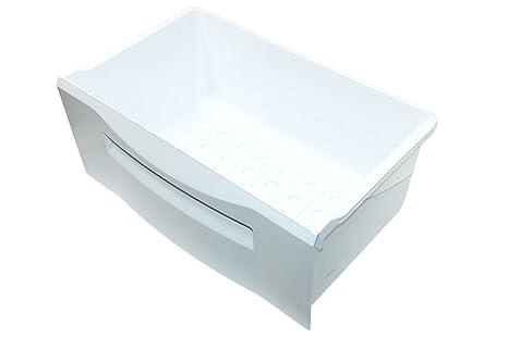 Daewoo Fridge Freezer White Plastic Fridge Freezer Drawer. Genuine