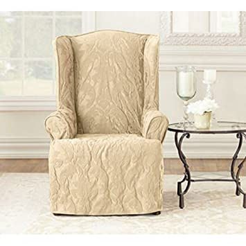 Amazon.com: Sure Fit matlasse Damask 1 pieza Sillón ...