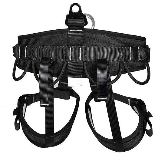 Amazon Com Laiabor Seat Belt Half Body Outdoor Rescue Climbing Cave