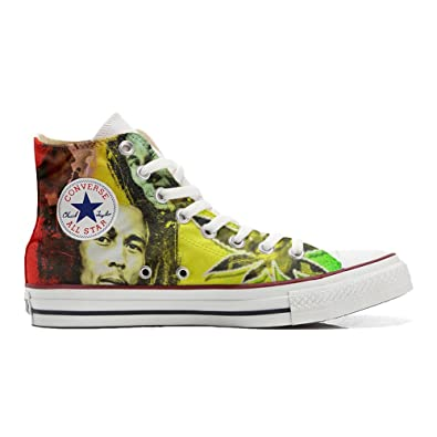 Converse All Star Customized   personalisierte Schuhe (Handwerk Produkt) music