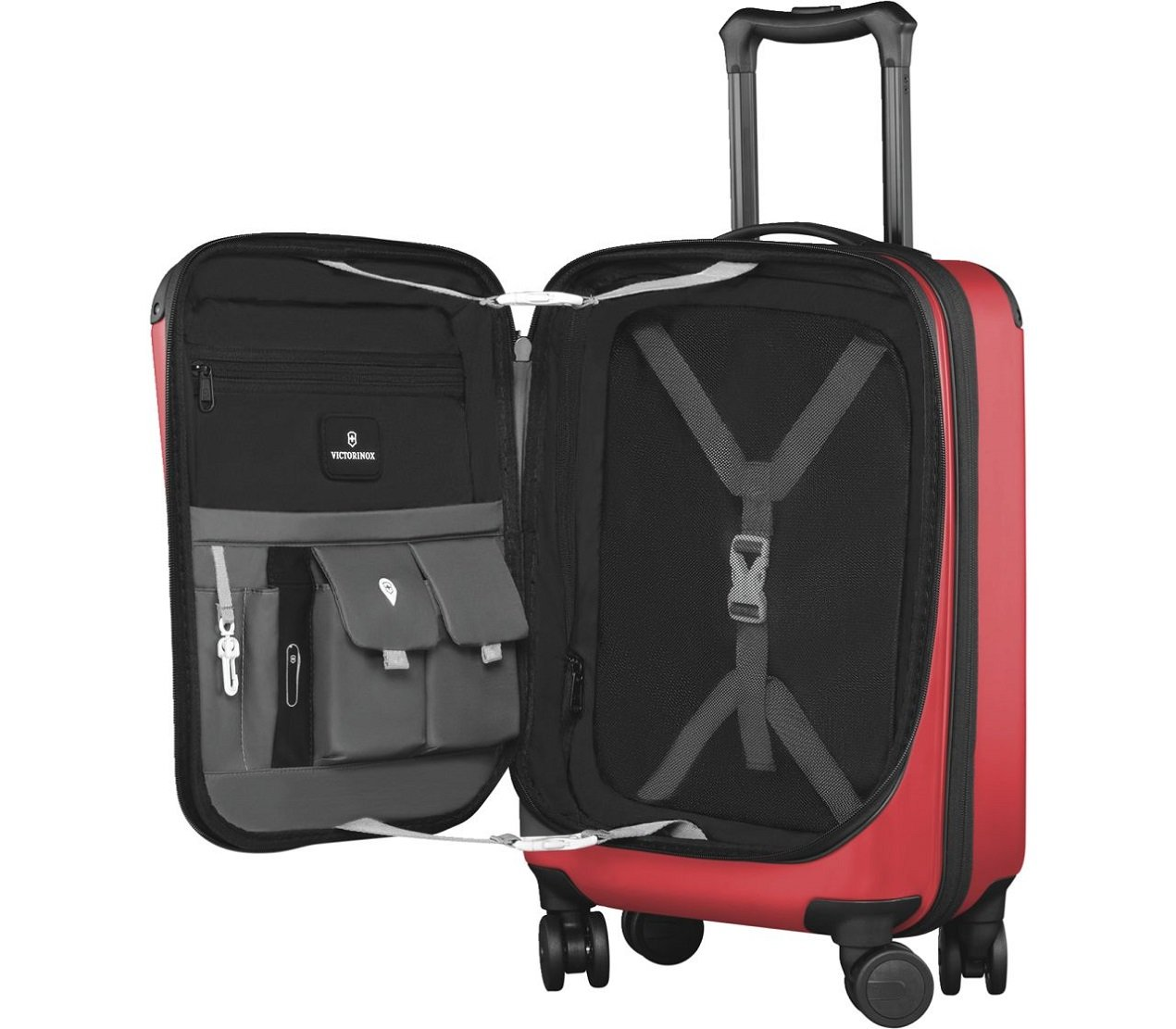 Spectra 2.0 Expandable Compact Global Carry-On Red