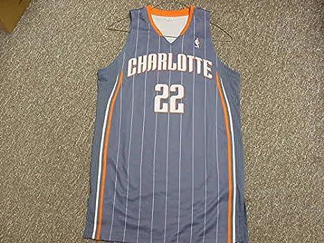 1594501ae Adidas Sample Jersey Charlotte Bobcats 2010-2011 Blue Game Jersey at ...